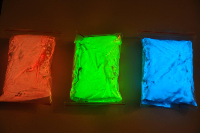 Как сделать светящуюся порошок